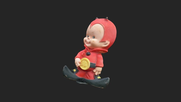 Toy Devil 3D Model