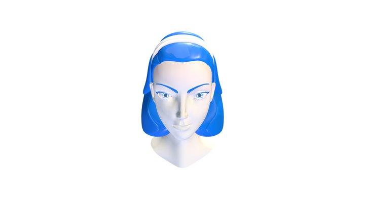Employer Id2 Retopo Hair St9 SF 3D Model