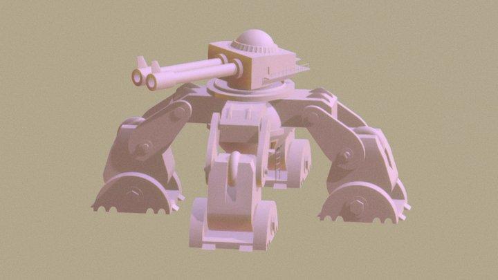 V.E.P. VI: Mobile Missile Defense Bastion 3D Model