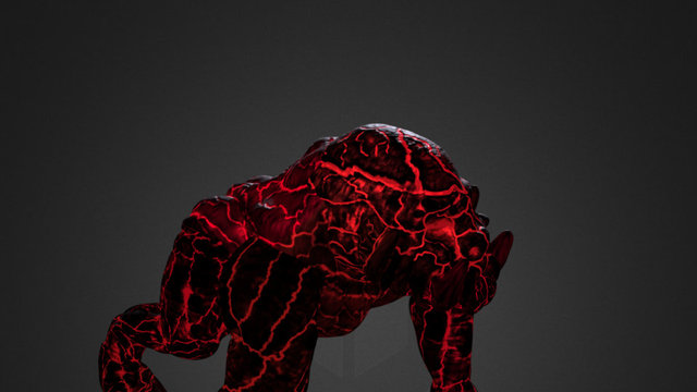 Lava Titan 3D Model