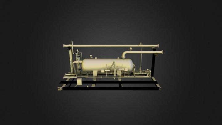 Flare KO 3D Model