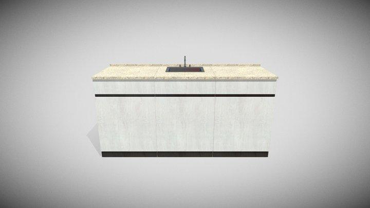 Sideboard Kitchen 3D Model