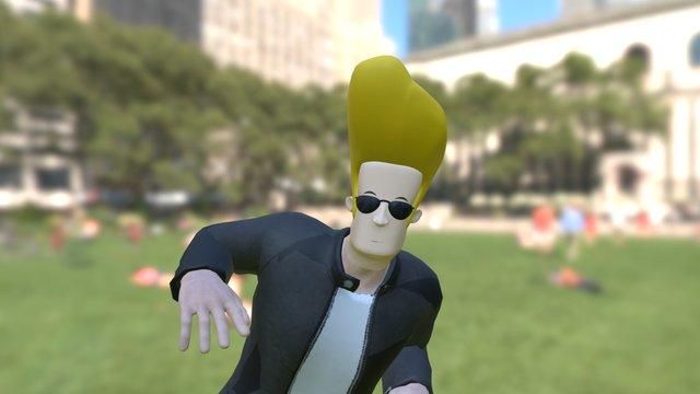 Johnny Bravo 3D Model