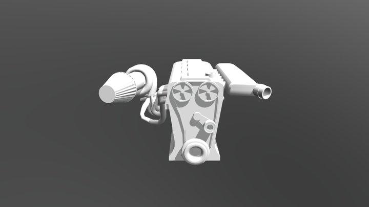 2jz replica... kinda... 3D Model