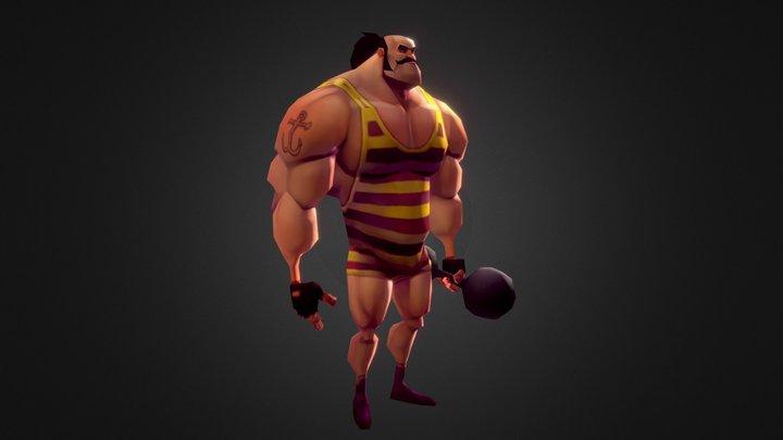 Strongman 3D Model