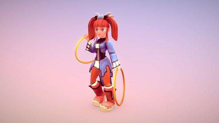 Mint - Threads Of Fate 3D Model