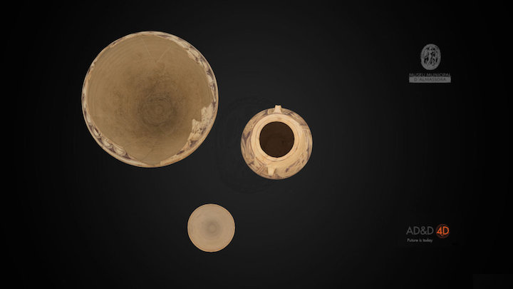 Tumba ibérica de Torrello 3D Model