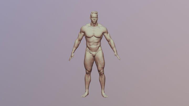 Pavel_3DScan_NudeBody 3D Model