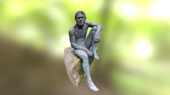 Hombre pez 3D Model
