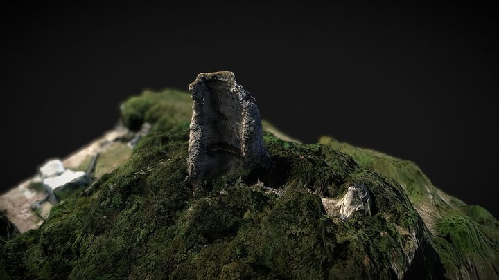Rocca sant'Angelo in Marmore 3D Model