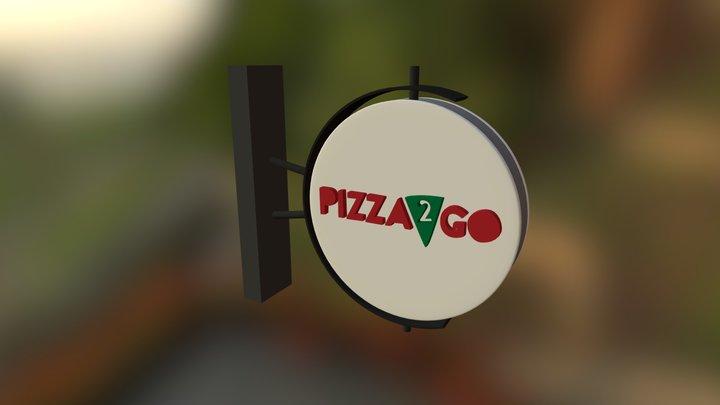 Pizza2goyantabela 3D Model