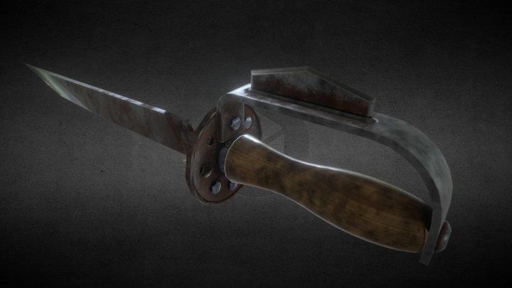 File Tool Knife 3D Model