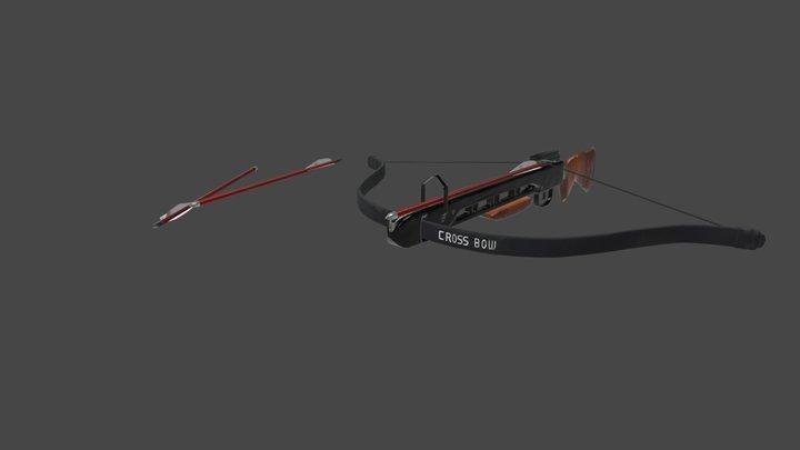 Crossbow - Textured 3D Model