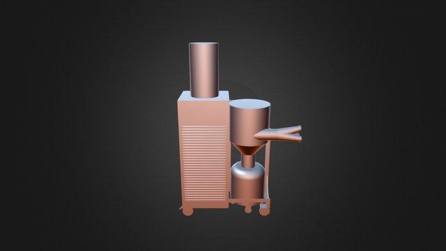 Projeto Especial Caixa De Filtros 3D Model
