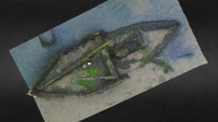 Wreck 2, Poole 3D Model