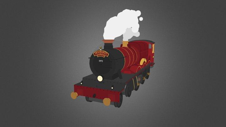30Days3D Day 19: Hogwarts Express 3D Model
