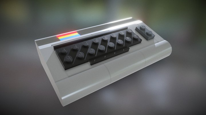 Commodore C64 from Chris McVeigh 3D Model