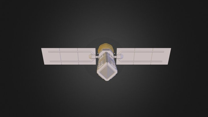 Satellite WIP 3D Model