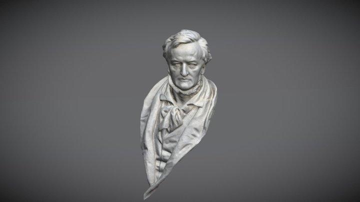Büste des Berliner Wagner-Denkmals 3D Model