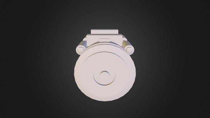 Clutch Air Compressor F 3D Model
