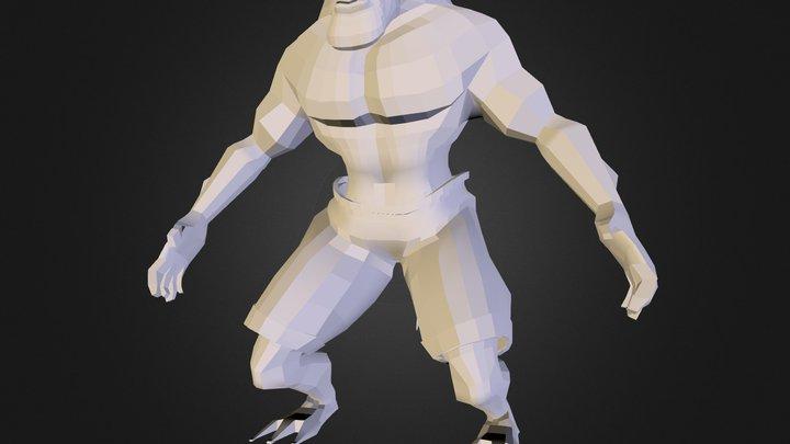581680 Ramirez Oscar Modpersonaje 3D Model