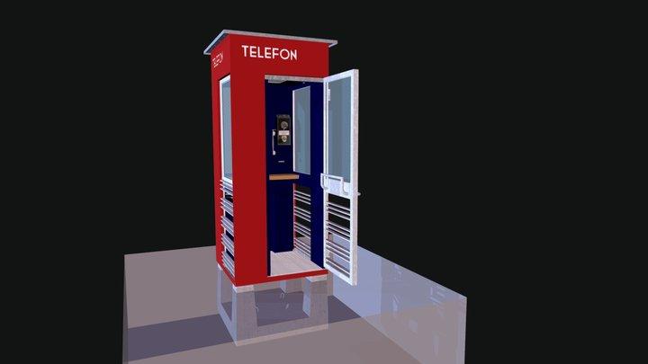 The Norwegian telephone booth – 1933-38 3D Model