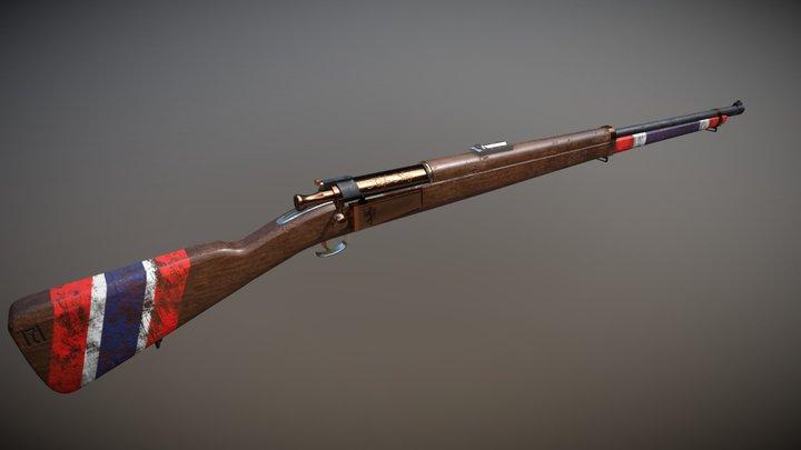 Alt for Norge - Krag-Jørgensen rifle 3D Model