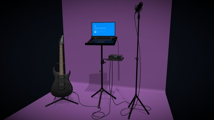 Homework 5 (studio) 3D Model