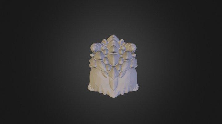 Poro Model 1024 3D Model