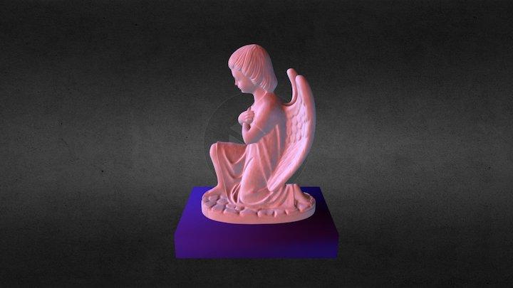 Angel rezando 3D Model