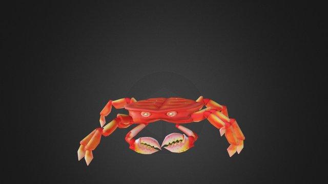 Crab Animation 3D Model