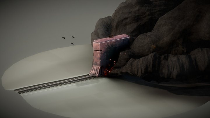 DieselPunk - Weekly CG Challenge #121 3D Model