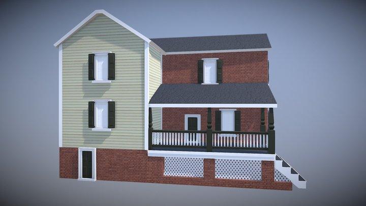 Hidden Town 3D Lot 102 3D Model