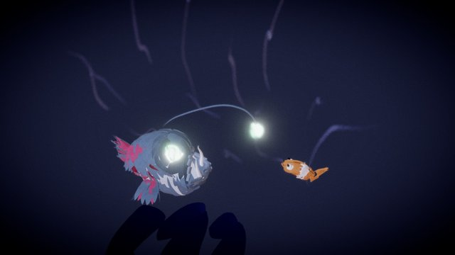 fish in the deep 3D Model