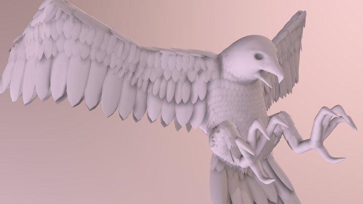 Phoenix Force 3D Model