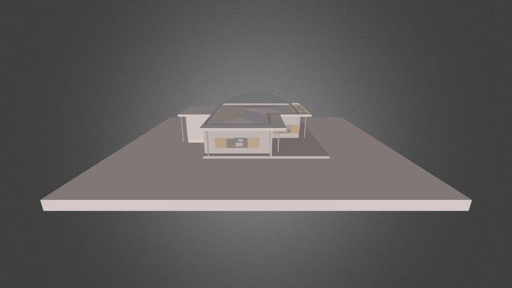Maison Carrout - Carrout House 3D Model