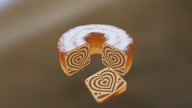 3D Printed Slovenian Potica Cake (Concept) 3D Model