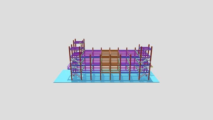 瑋鑫廠房新建(二期) 3D Model