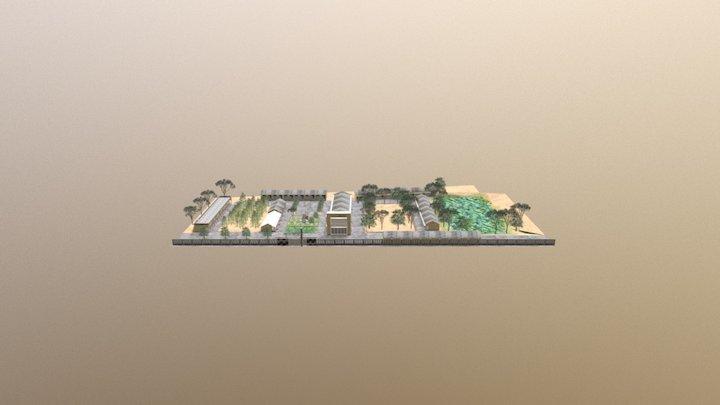 Trung Học Hoàng Diệu 3D Model