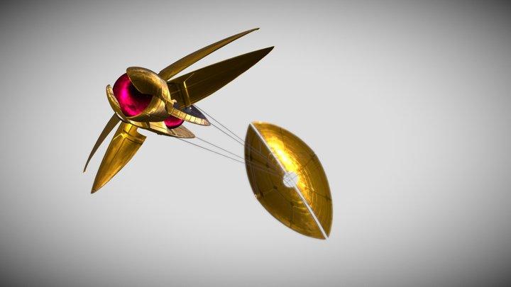 Dooku's Solar Saier 3D Model