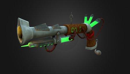 Rat Poison Gun 3D Model
