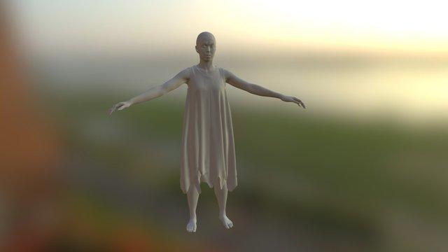 Onryo Full Model 3D Model