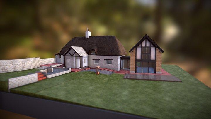 1777 - Rose Cottage, Mill Lane, Scotsgrove 3D Model