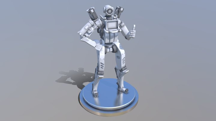 Pathfinder from Apex Legends 3D Model