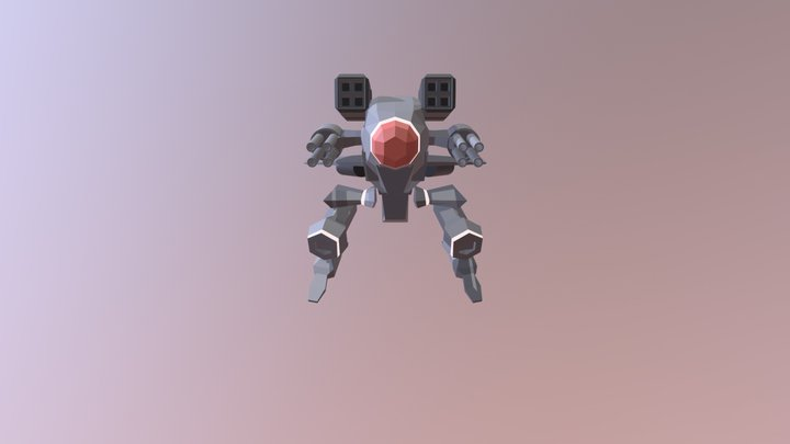 Md1 Red Fly 3D Model