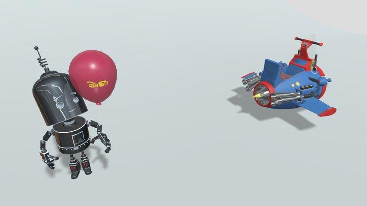 XYZ Home Work 05 3D Model