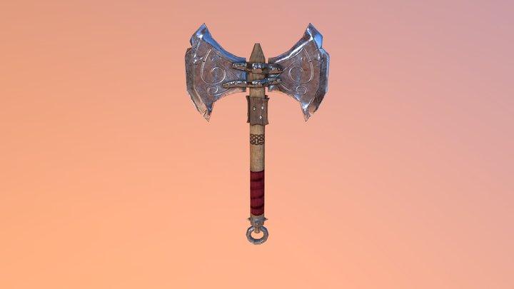 Ogre Axe 3D Model