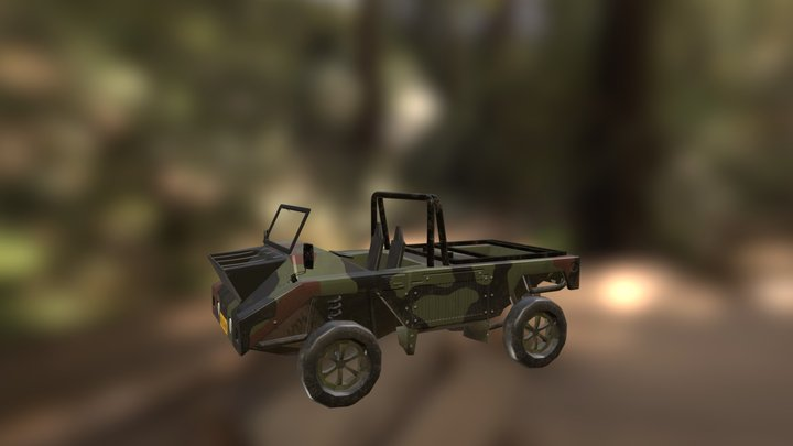 Lucht Speciaal Voertuig test 3D Model
