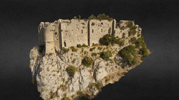Château de La Roquette ou de Viviourès (34) 3D Model