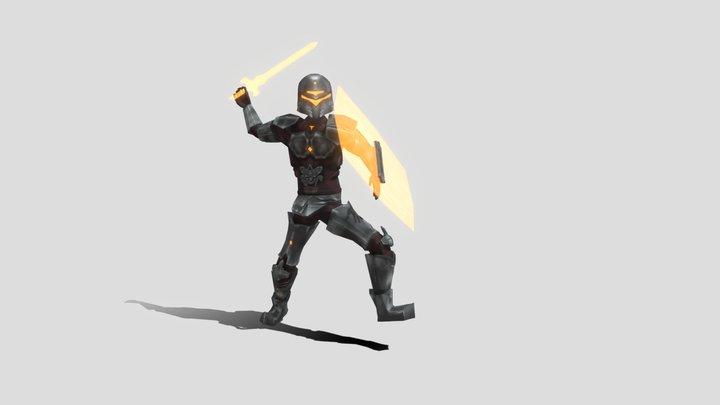 BossBoi_Attack1_Animation_LucaNaselli 3D Model